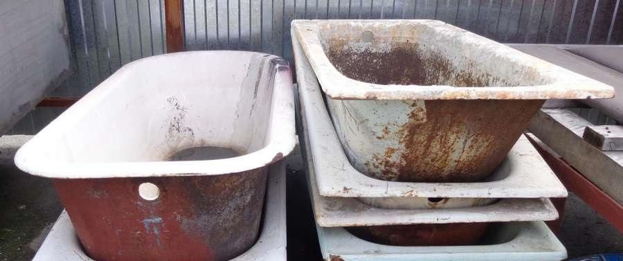 Сдать старую ванну на металлолом